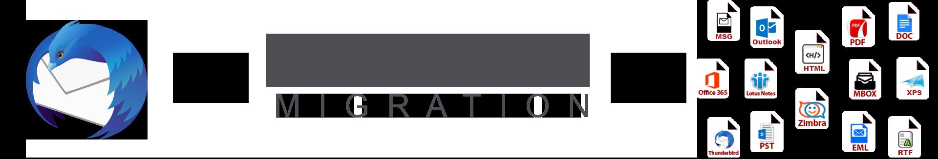Thunderbird Migration Tool - Export Thunderbird Emails to